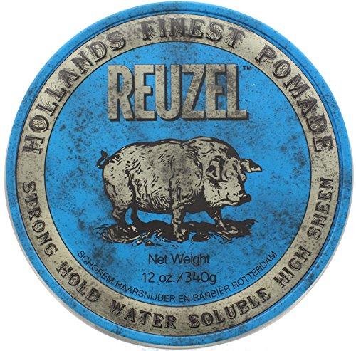 (Reuzel High Shine Blue Pomade (12 oz))