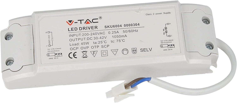 42 V CC 45 W Alimentation Courant constant pour panneau LED 60 x 60 cm LEDLUX CC4560 LED Driver CC 1050 mA 30 V