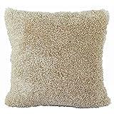 Solid Stuffed Cushion ChezMax Zippered Plush Throw Pillow Insert Square Decorative