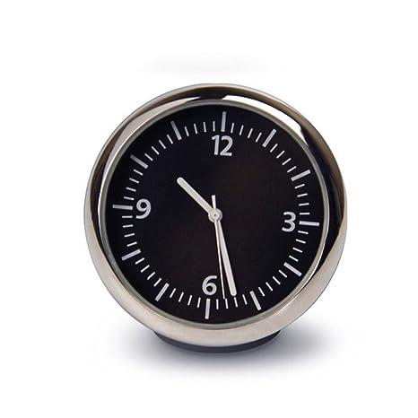 TOOGOO Reloj digital mini automovil coche Reloj automatico Ornamento de decoracion automotriz en coche accesorios: