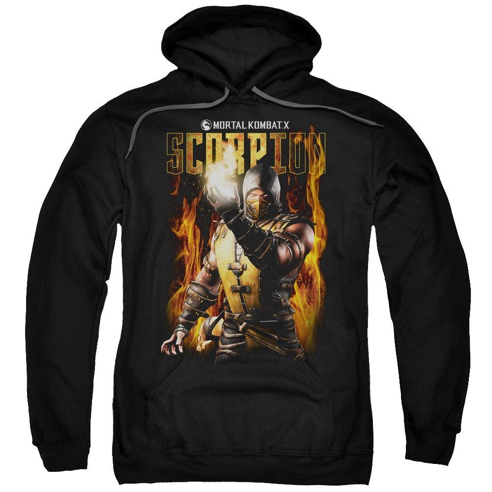 Unbekannt Mortal Kombat - - Männer Scorpion Pullover Hoodie