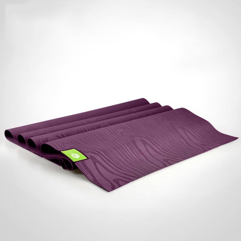 HCJYJD Yogamatten, zusammenklappbar Portable Slim 1.5mm Anti-Rutsch-Fitness-Matte Erweiterter Beruf Umweltschutz Ungiftig (Farbe :  1)