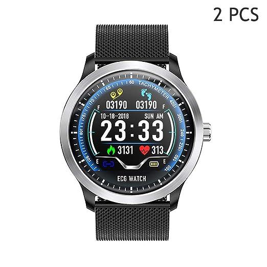 ACZZ Reloj inteligente, rastreador de actividad deportiva con ...