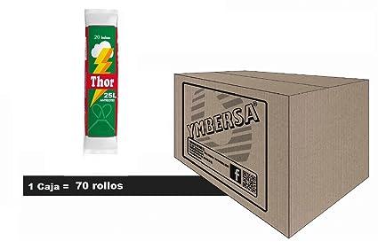 Caja bolsa basura THOR 25 Litros. Sistema antigoteo y alta ...