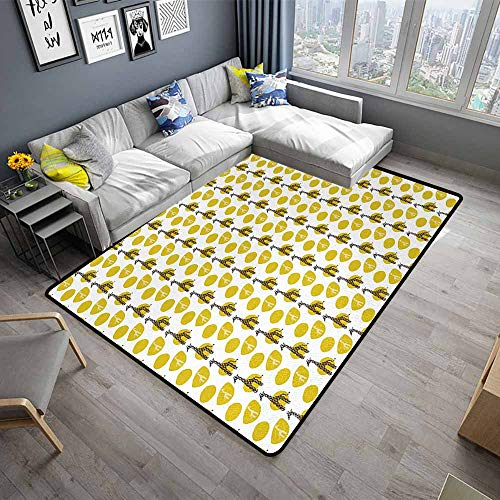 Giraffe,Office Chair Floor Mat Foot Pad 48