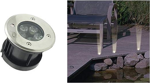 BES Foco 5 LED, 5 W, luz fría, señalizador, lámpara para jardín Exterior: Amazon.es: Hogar