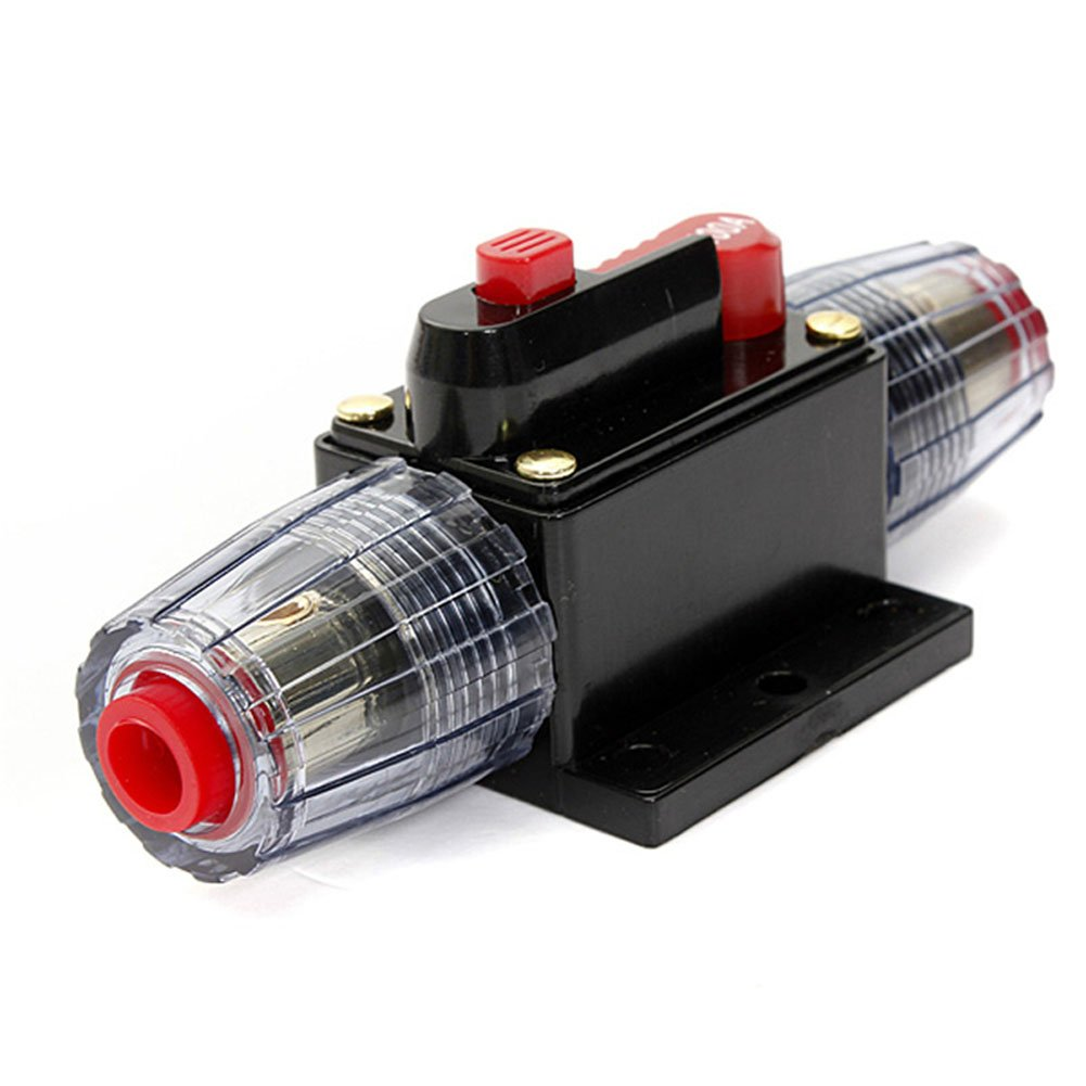 100AMP 100A DC 12V/24V/32V Car Stereo Audio Circuit Breaker Inline Fuse Holder