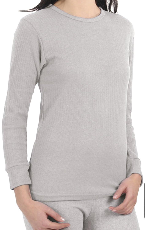 Langes Damen-Unterhemd, Skiunterhemd, Funktionsunterwäsche, innen angeraut, 3 Farben wählbar, in den Grössen S bis XL