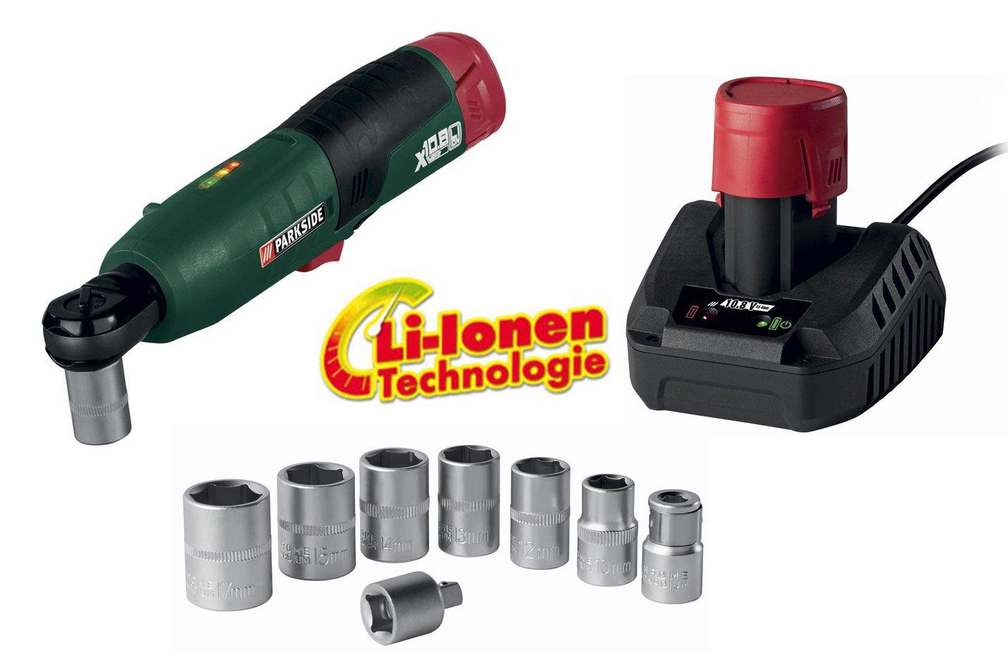 Batería de iones de litio de destornillador (carraca 3/8 pulgadas ...
