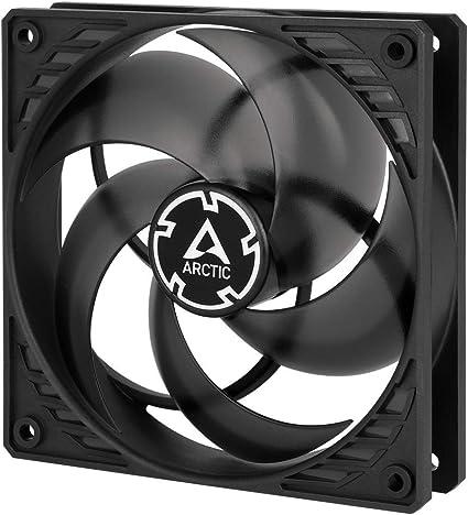 ARCTIC P12 PWM - 120 mm Ventilador de Caja para CPU con PWM, Motor Muy Silencioso, Computadora, 200-1800 RPM - Negro/Transparente: Amazon.es: Informática