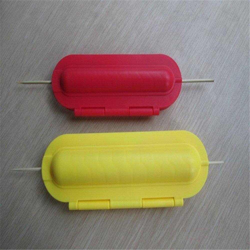 BRAND NEW Curl-A-Dog Spiral Hot Dog Slicer Set DHLink