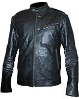 Detective Antonio Dawson Chicago PD Jon Seda Black Synthetic Leather Jacket
