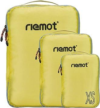 Packing Cubes de Compresión, Organizadores de Equipaje, 3 Set ...