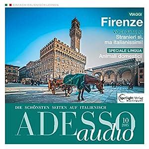 ADESSO audio - Animali domestici. 10/2015: Italienisch lernen Audio - Haustiere Hörbuch