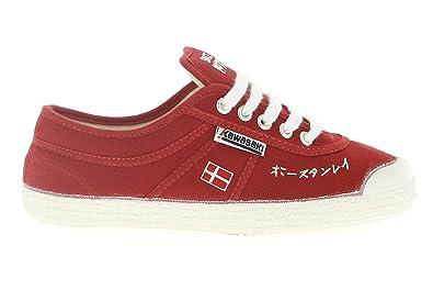 Kawasaki 233RSP - Zapatillas de lona / canvas para hombre, color rojo / blanco, CHI RED-WHT, 45: Amazon.es: Zapatos y complementos