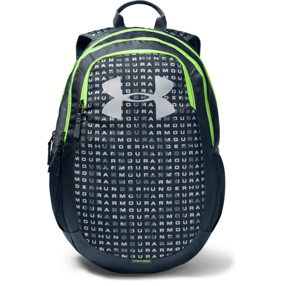 Under Armour Scrimmage Backpack 2.0, Wire (073)/Lime Light, One Size Fits All by Under Armour
