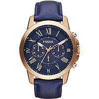 Fossil Men's Chronograph Quartz Watch, Leather