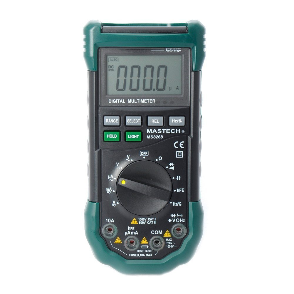 Mastech MS8268 Digital AC/DC Auto/Manual Range Digital Multimeter Meter by Mastech (Image #6)
