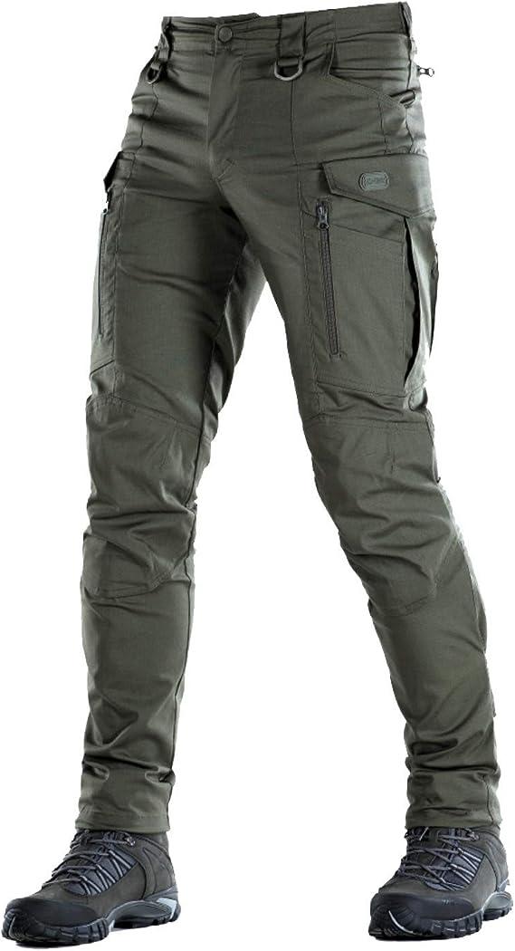 Conquistador Flex Pantalones Tacticos Para Hombre Con Bolsillos De Carga Verde Aceituna 34w X 34l Amazon Com Mx Ropa Zapatos Y Accesorios