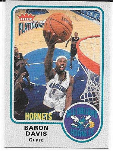 Davis Hornets Baron - Baron Davis 2002-03 Fleer Platinum New Orleans Hornets Card #135