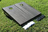Onyx Stained Cornhole Game Set offers