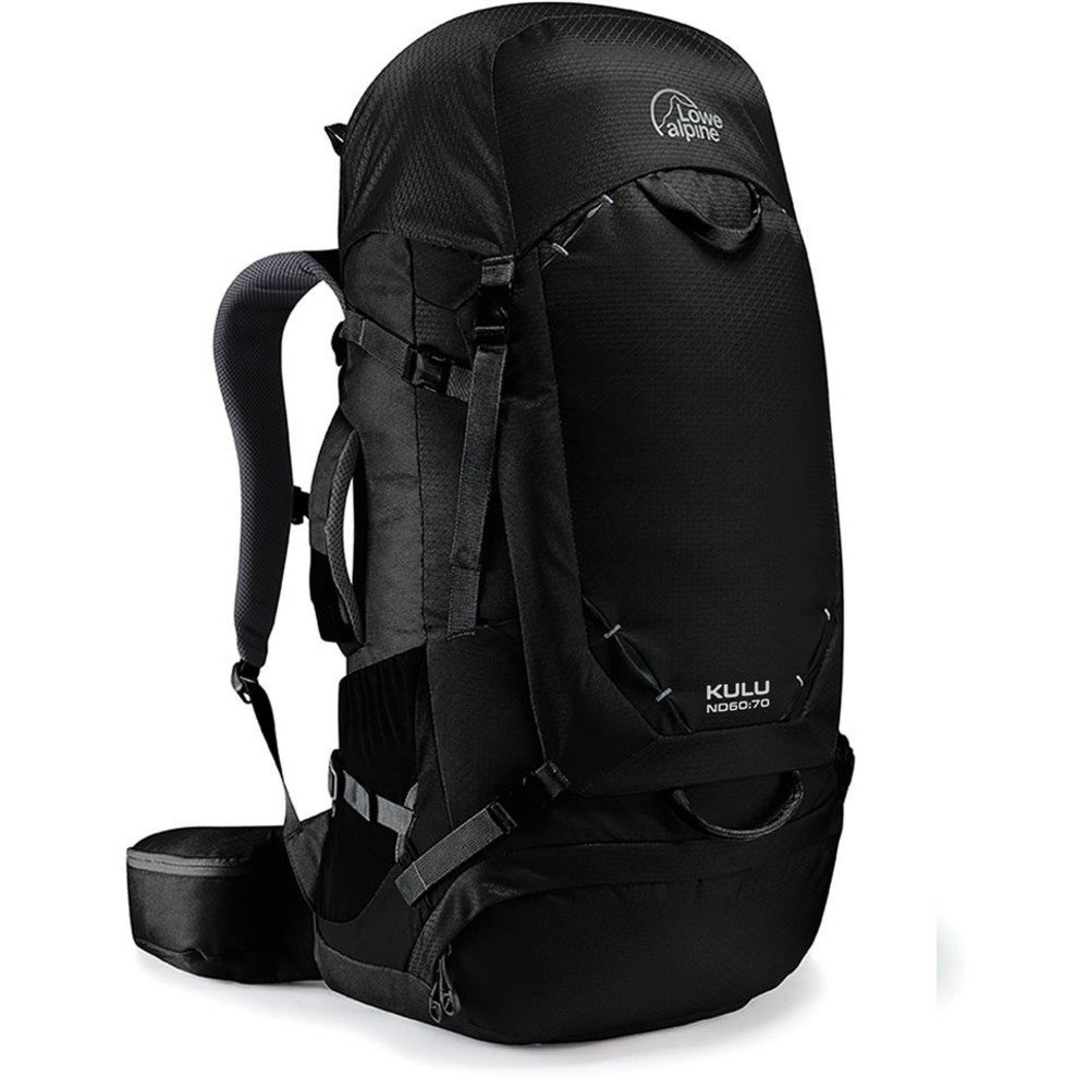 Lowe Alpine Kulu ND 60 : 70バックパック – 3660 – 4270 cu in One Size ダークグレー(anthracite) B075411DFQ