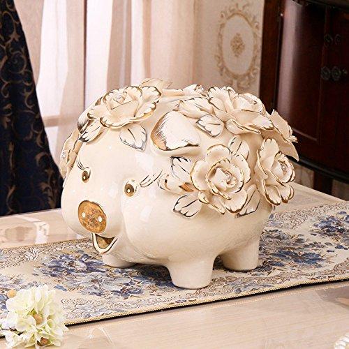 Ein EinheitsGröße G'z Keramik Sparschwein Erwachsene Kreative Sparschwein Münze Nette Persönlichkeit Geburtstagsgeschenk Kind Sparschwein,EIN,Einheitsgröße