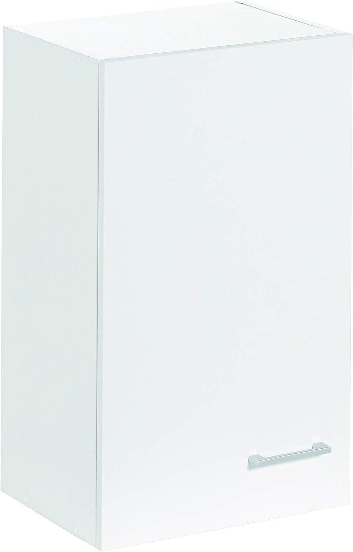 Armario alto de cocina, blanco, de 40cm, con puerta