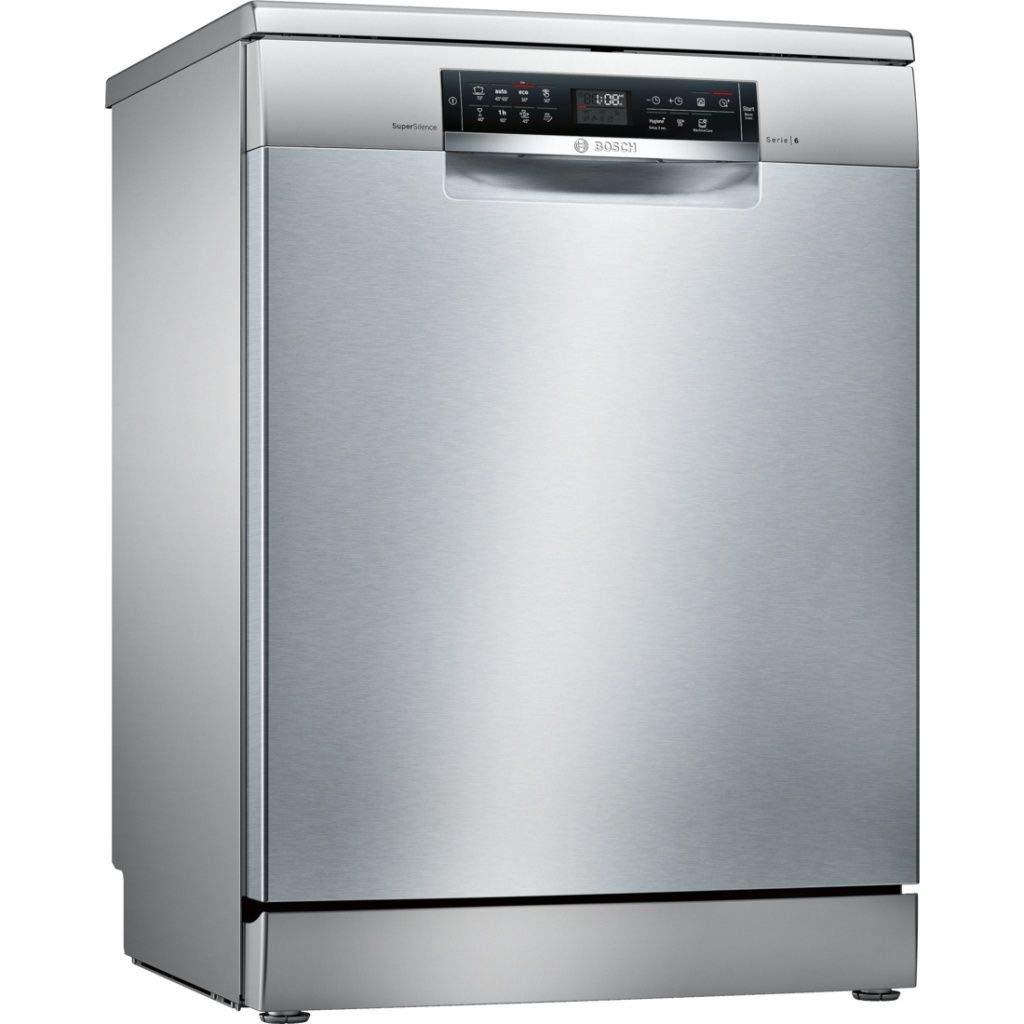 Bosch Serie 6 SMS68TI03E lavavajilla Independiente 14 cubiertos A ...