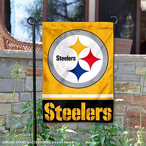 Wincraft Pittsburgh Steelers Gold Double Sided Garden - Rock Steelers