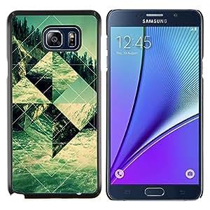LECELL--Funda protectora / Cubierta / Piel For Samsung Galaxy Note 5 5th N9200 -- Edificio Religioso Forma Arte --