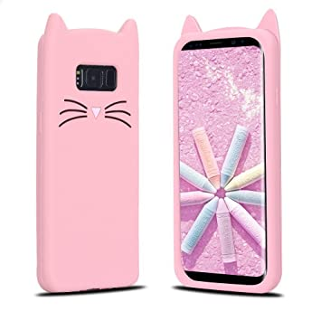 coque samsung s8 silicone chat