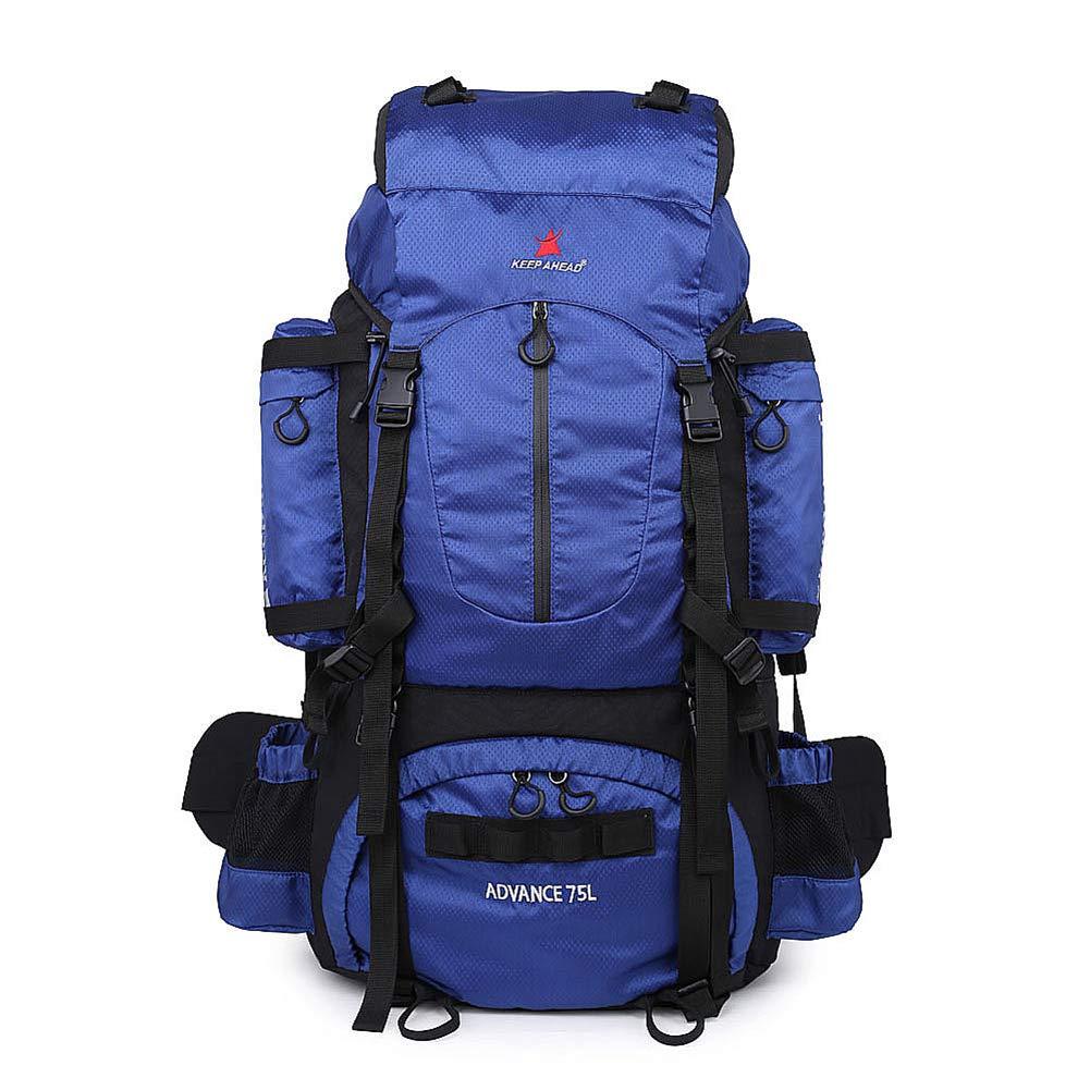 登山 リュック 大容量 防水 軽量 多機能 リュック 背中旅行 登山用リュックアウトドア 登山 バックパックバックパックアウトドア登山リュックサックスポーツ登山バッグト5241  Blue B07P8RW5SK