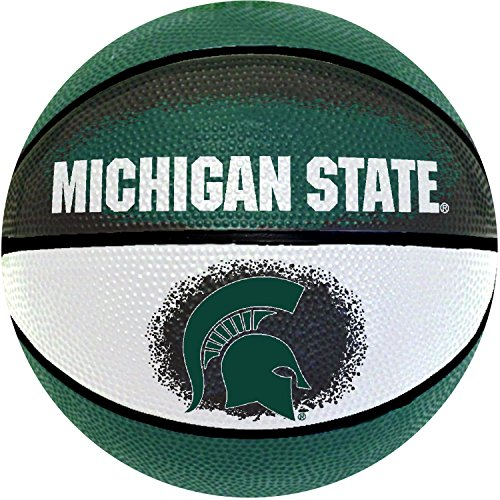 Michigan State Spartans Basketball - NCAA Michigan State Spartans Mini Basketball, 7-Inches