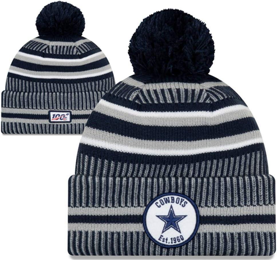 yangyuanfit NFL Fans On Field Sideline Sport Knit Hat Beanie Stocking Cap