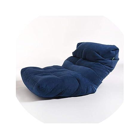 Amazon.com: ACOMY No Filling Bean Bag Sofa Cover Chairs Lazy ...