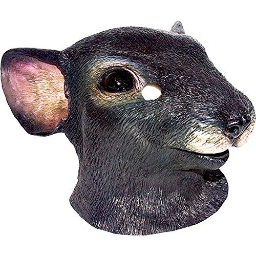 Latex Full Head Rat Mouse Rodent (Rat Mask)