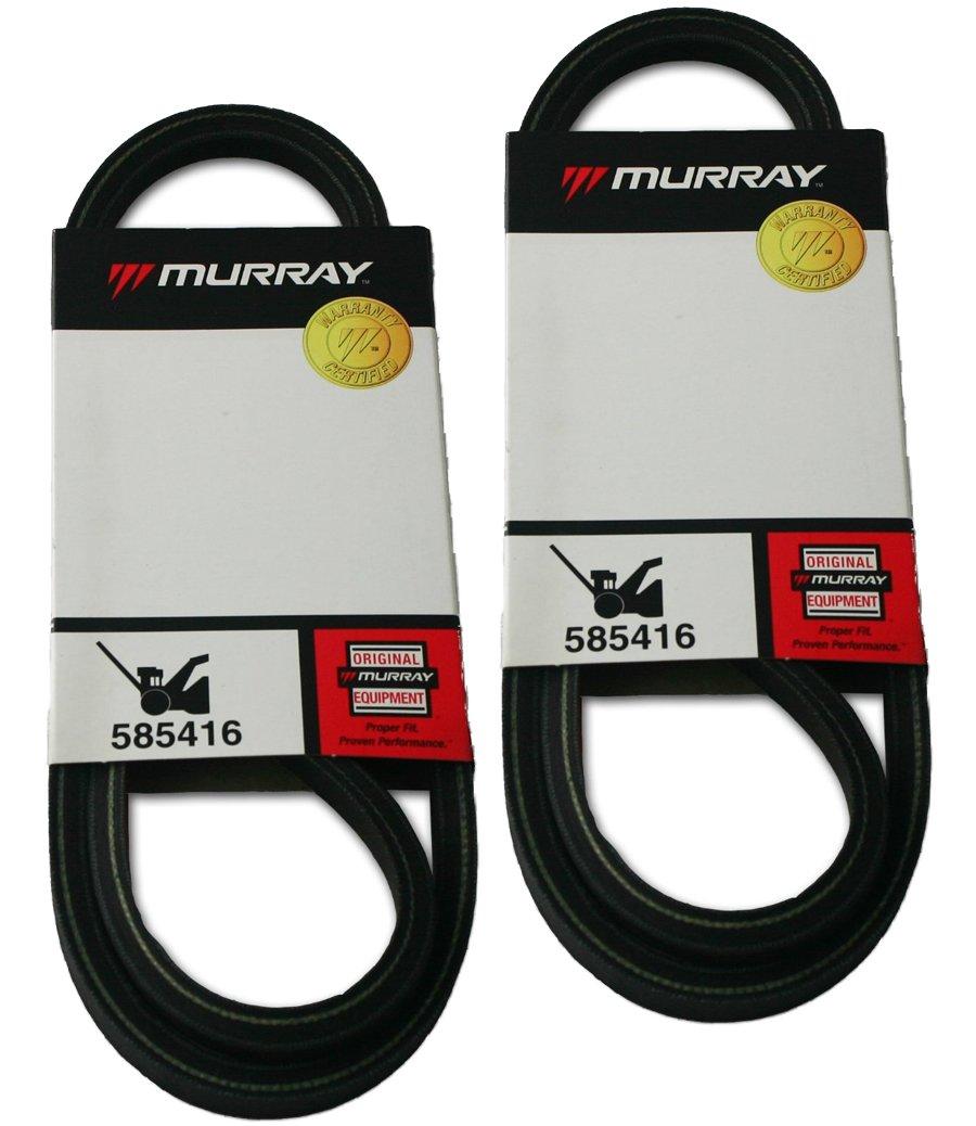 Murray (2 Pack) 585416MA Auger Drive Belt # 585416MA-2pk