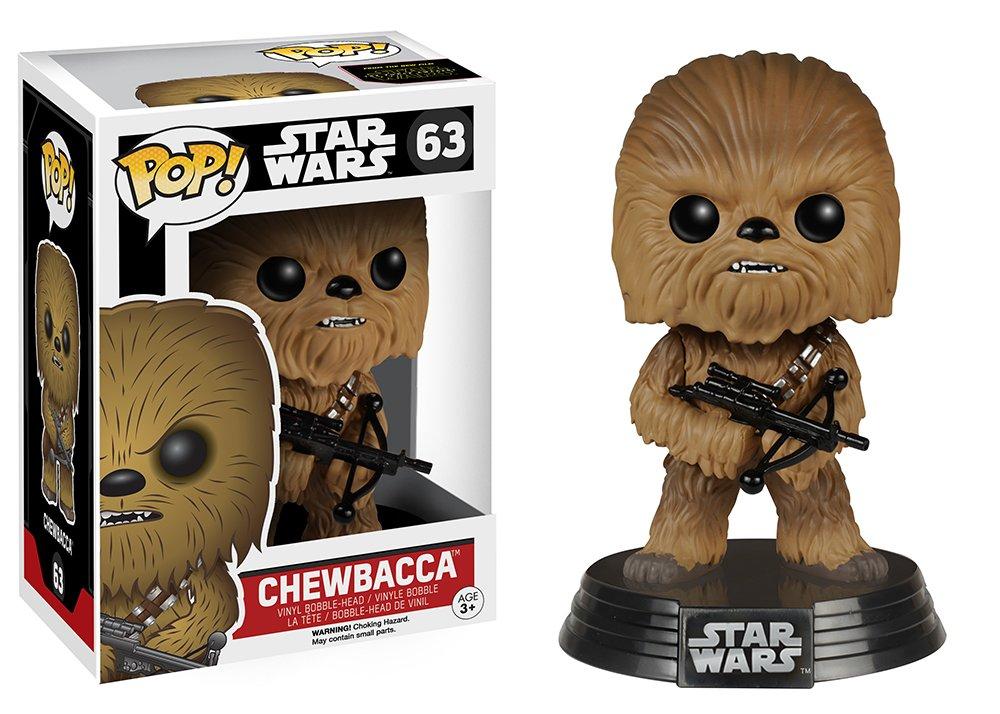 STAR WARS- Figura de Vinilo Chewbacca, (Funko 6228)