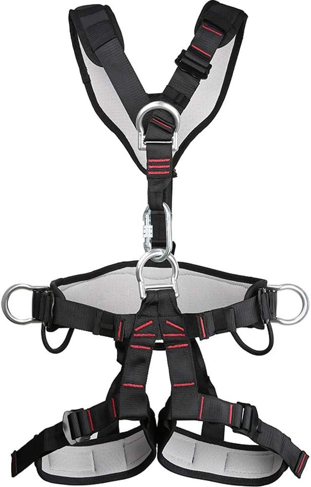 HWTZ Cinturón de Trabajo aéreo, Arnés de Cuerpo Completo, Cinturón ...