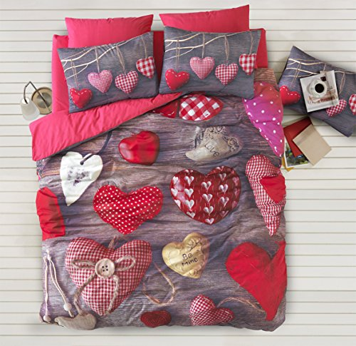 100-Percent-Cotton-3D-Valentine-Heart-Love-Themed-Bedding-Set-Romantic-Design-QuiltDuvet-Cover-Set-FullQueen-Size-4-Pieces