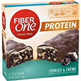 Fiber One Protein Chewy Bar Cookies and Crème 5-1.17 oz Bars