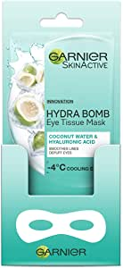 Garnier SkinActive Eye Tissue Mask Hyaluronic Acid and Coconut Water