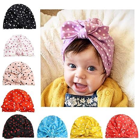 19328358092 Amazon.com  Dig dog bone 2 Pcs Baby Girl Hats Knotted Ear Style Turban  Headband Dot Baby Products  Sports   Outdoors