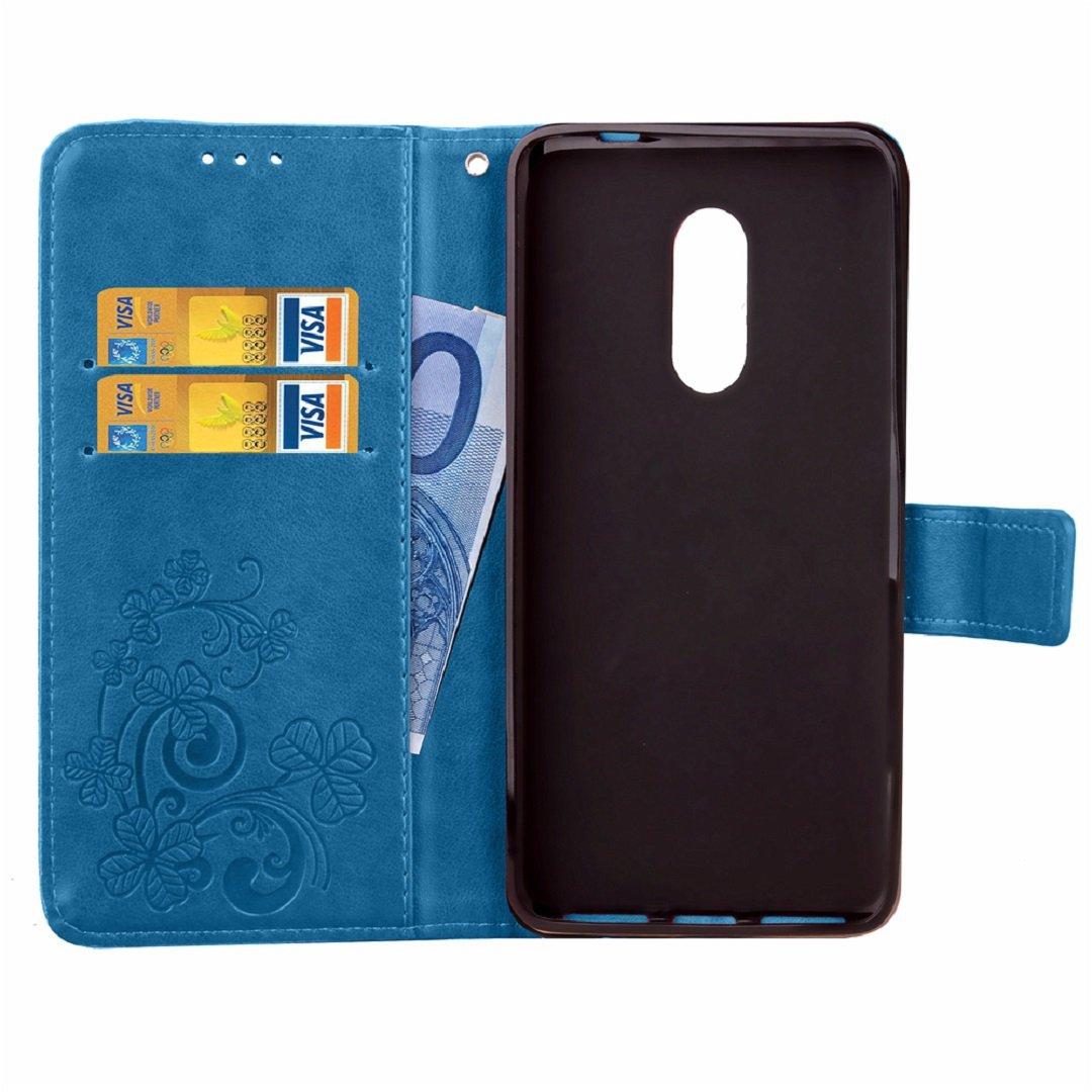 Amazon.com: ZTE Blade V7Lite/A2/V6Plus Wallet Stand Case ...