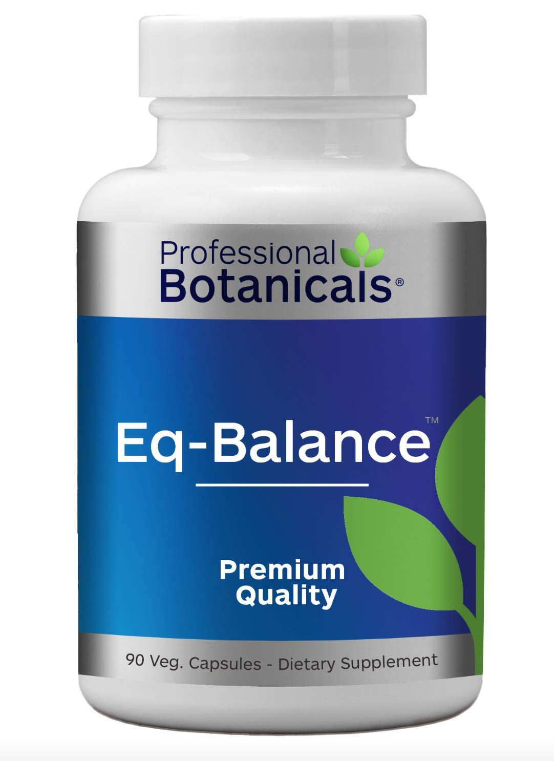 Professional Botanicals Eq-Balance, Natural Herbal Vegan Vertigo Motion Sickness Nausea Relief - 90 Veg Capsules by Professional Botanicals