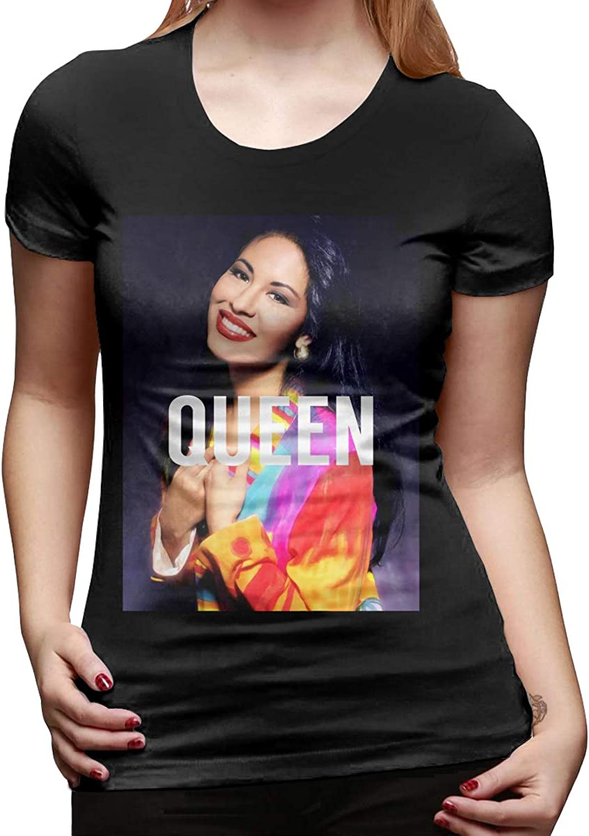 NOT Selena Quintanilla Women's T-Shirt L Black