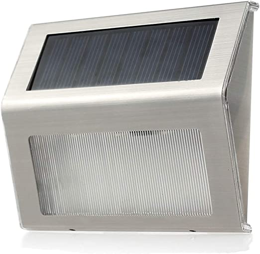 XEX-C Focos Led Exterior, Luz Solar Al Aire Libre Luz del Paso del Jardín Luz De La Escalera del Proyector, Luz Blanca 6000K: Amazon.es: Hogar