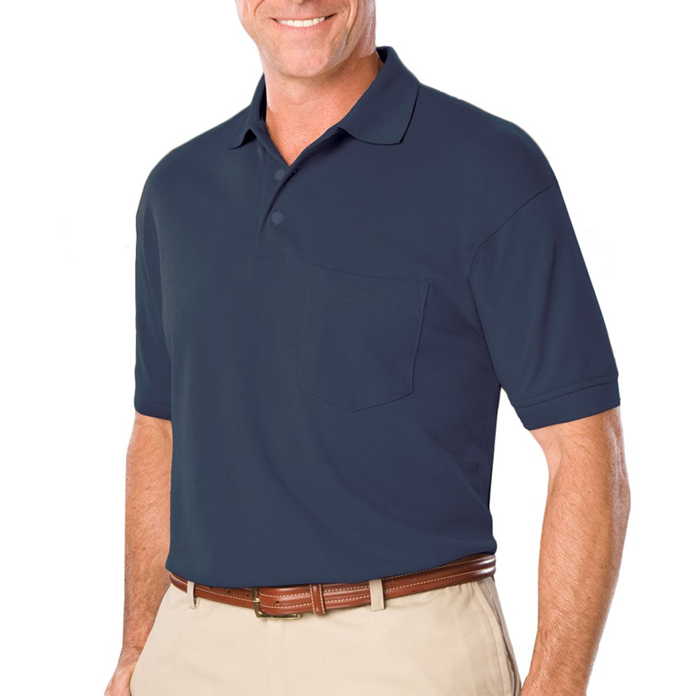 Mens Soft Touch Short Sleeve Pocketed Pique Polo BG7501