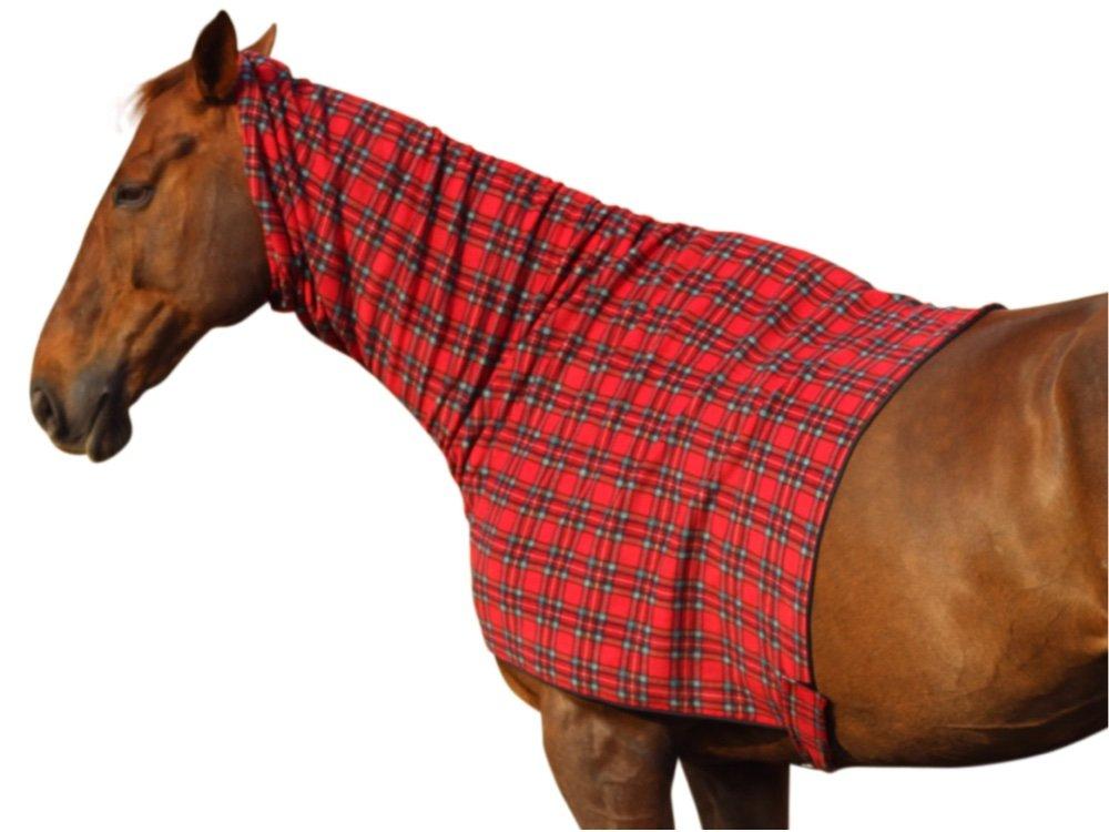 Red Polar Fleece Horse Rug Carpet Vidalondon